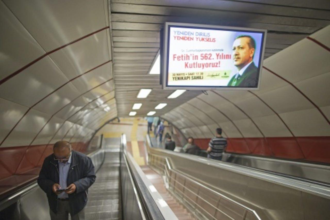 Metro in Istanbul. EPA