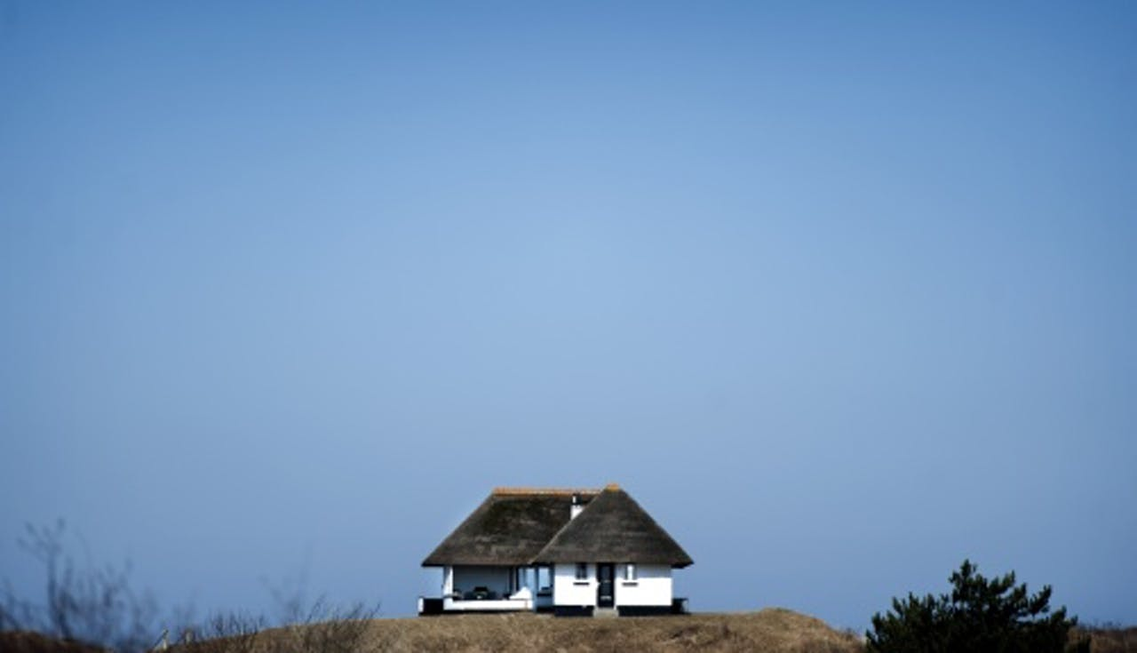 Vakantiehuis op Schiermonnikoog. ANP
