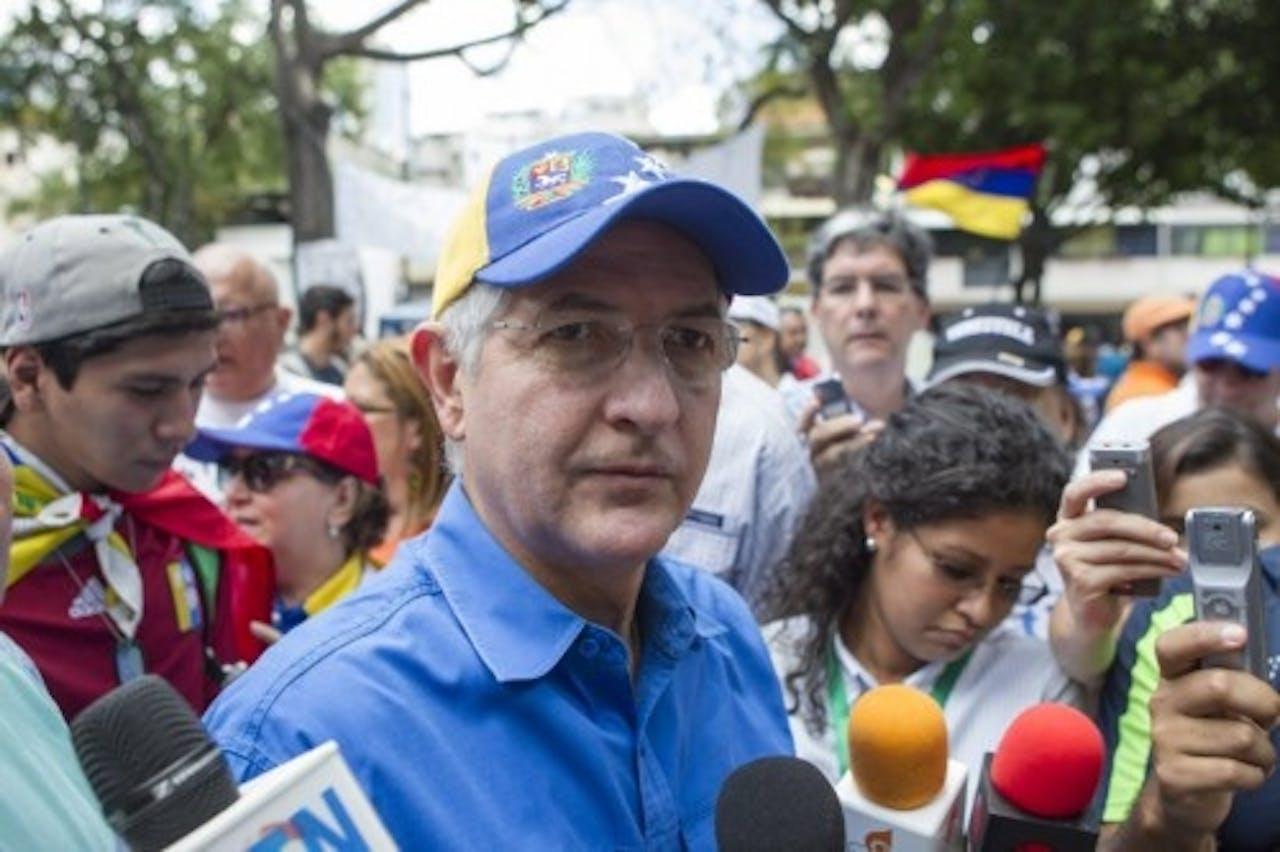 Antonio Ledezma. EPA