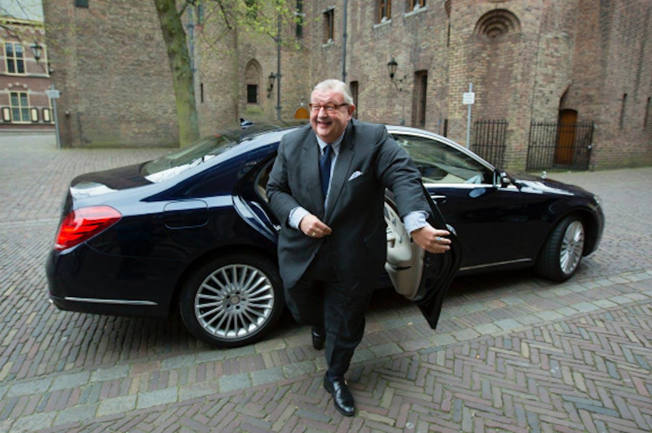 Foto: ANP - VVD-partijvoorzitter Henry Keizer