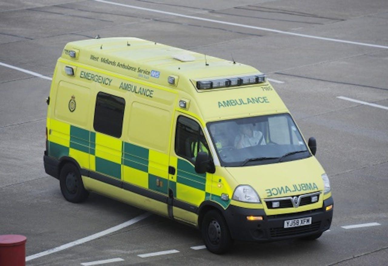 Archiefbeeld van een ambulance. EPA