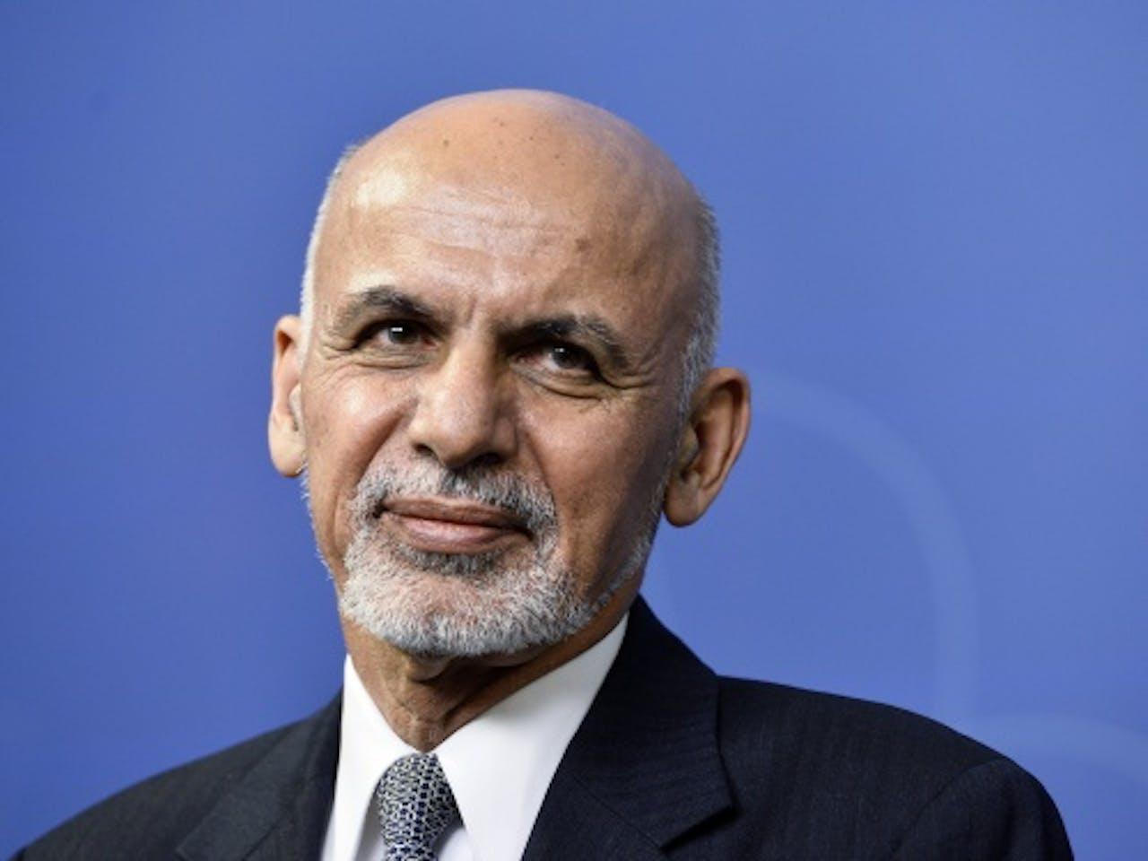President Ashraf Ghani. EPA