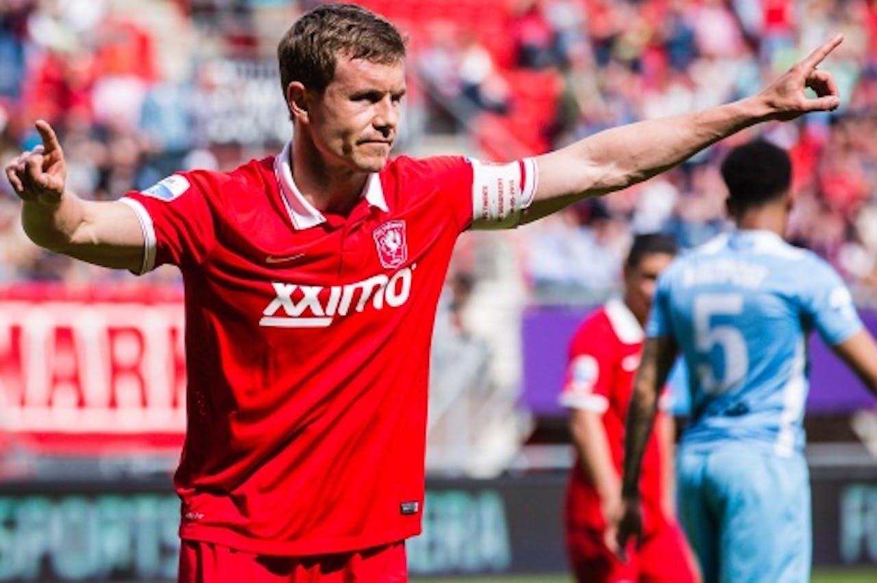 Andreas Bjelland bij FC Twente. Archieffoto ANP