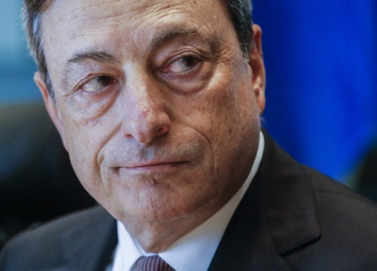 ECB-president Mario Draghi. ANP