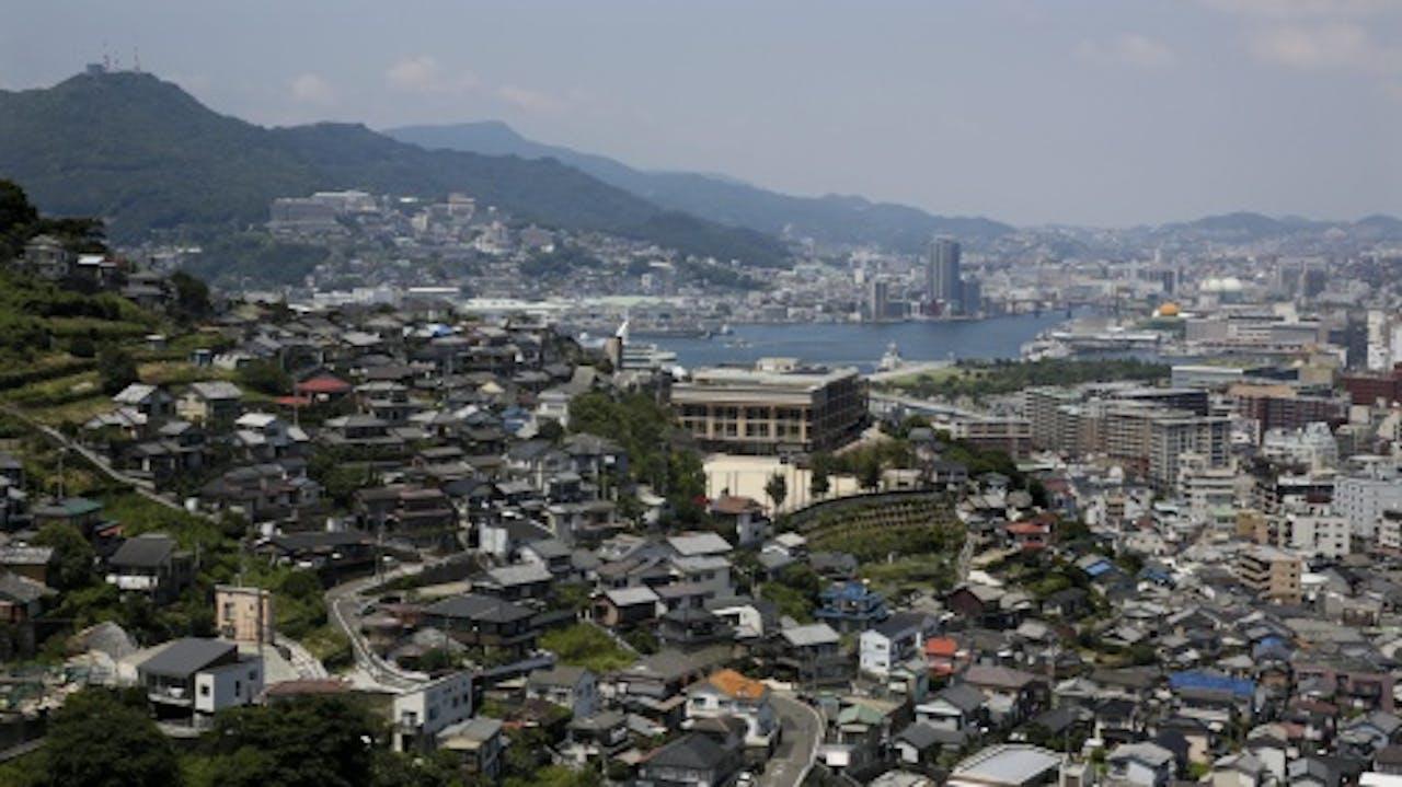 Archieffoto Nagasaki. EPA