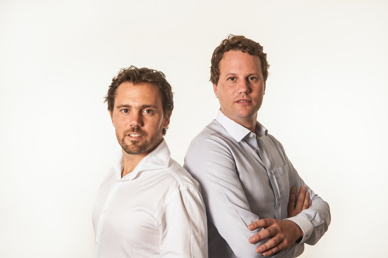 Taco en Ties Carlier, oprichters van Vanmoof