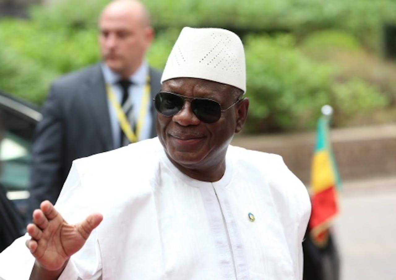 Ibrahim Boubacar Keita. EPA