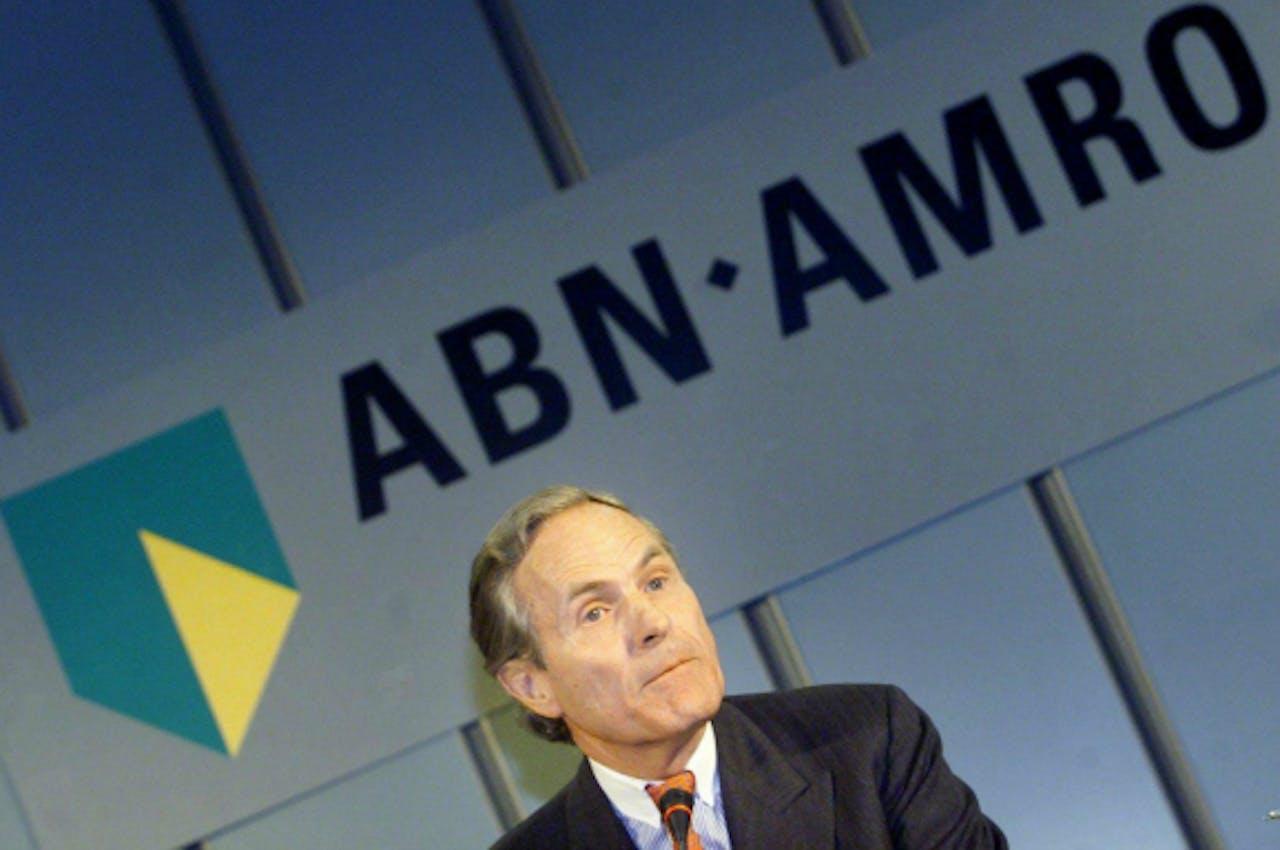 Kalff in 2000 als topman van ABN Amro. Foto: ANP