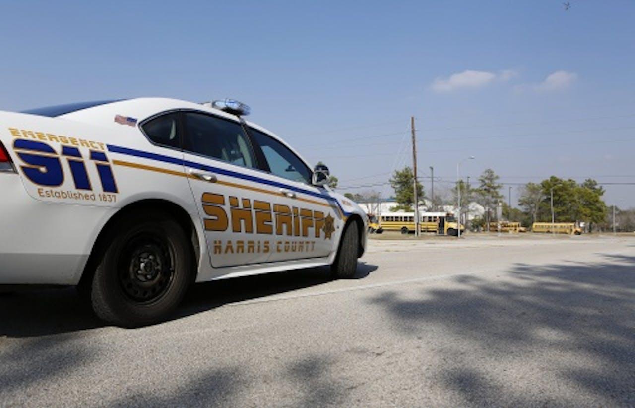 Een politiewagen in Houston. EPA