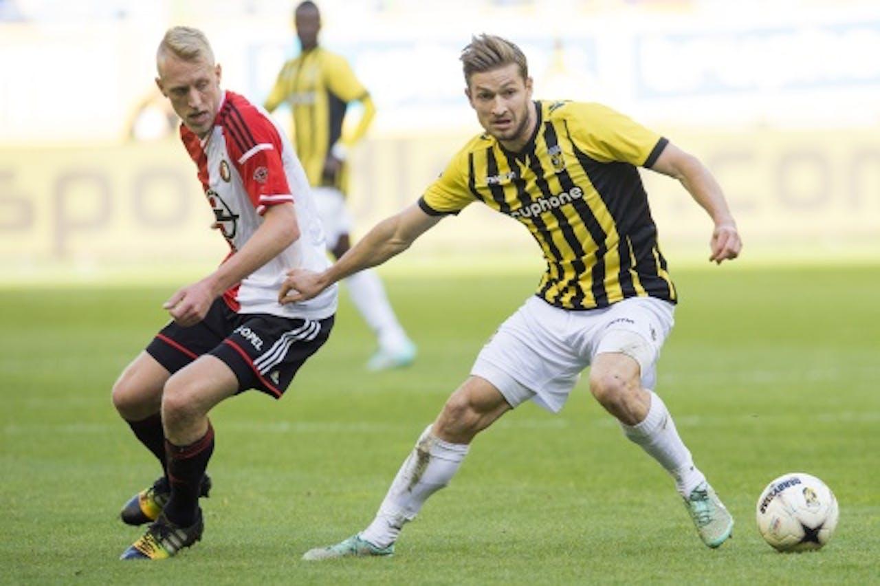 Jan-Arie van der Heijden (R). ANP