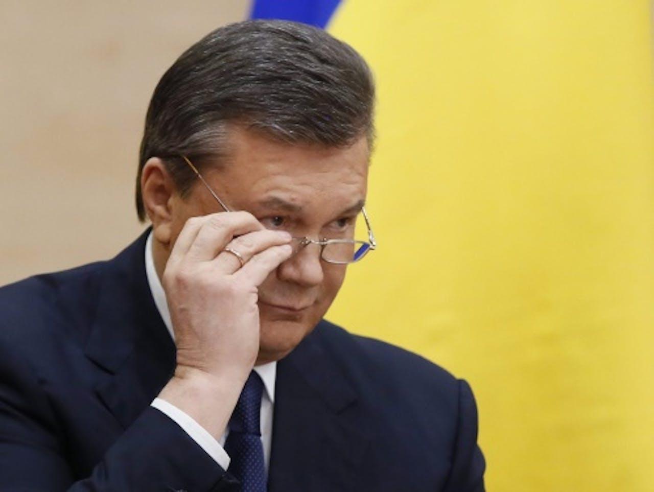 Archiefbeeld Viktor Janoekovitsj. EPA