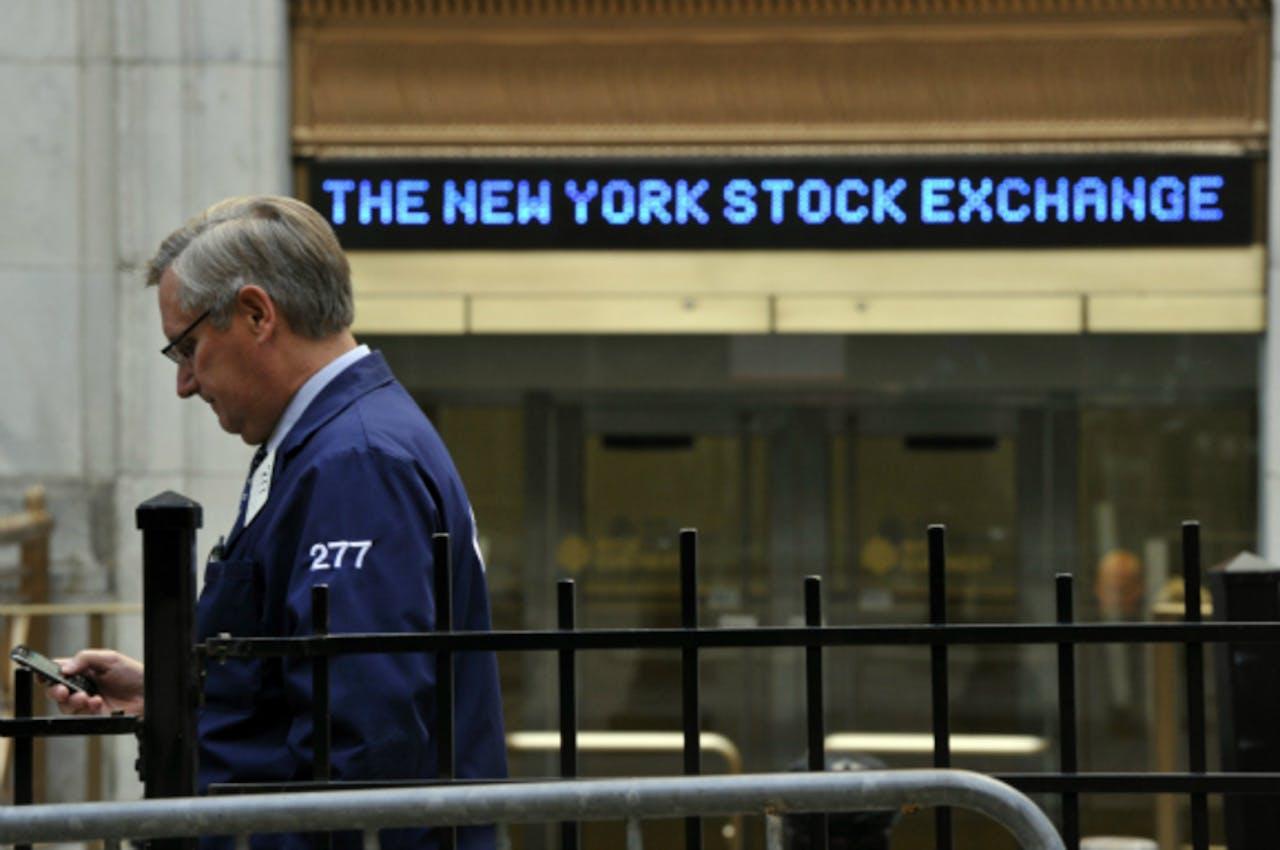 Wall Street opent vlak