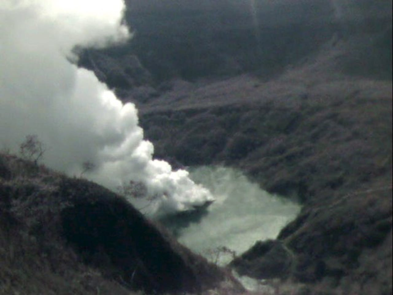 Archiefbeeld van de vulkaan Kelud uit 2007. EPA