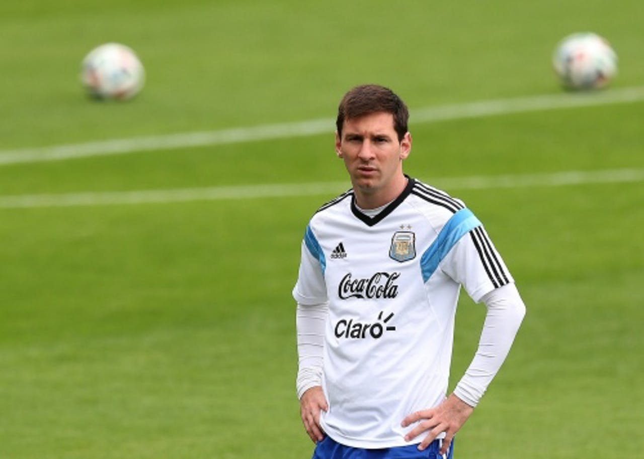 Lionel Messi (EPA)