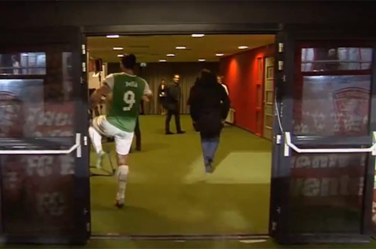 Graziano Pellè na afloop van FC Twente - Feyenoord