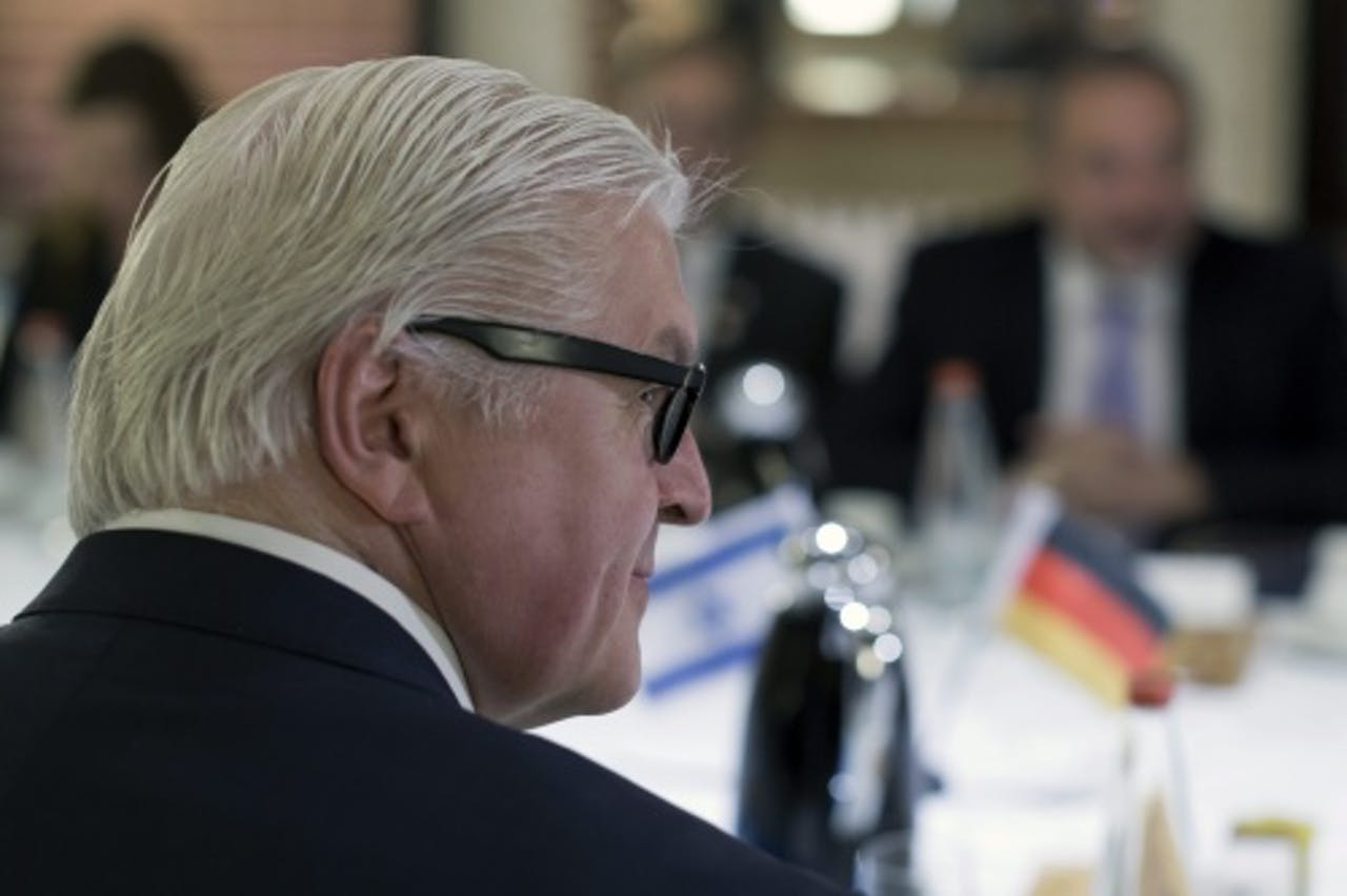 Frank-Walter Steinmeier. EPA