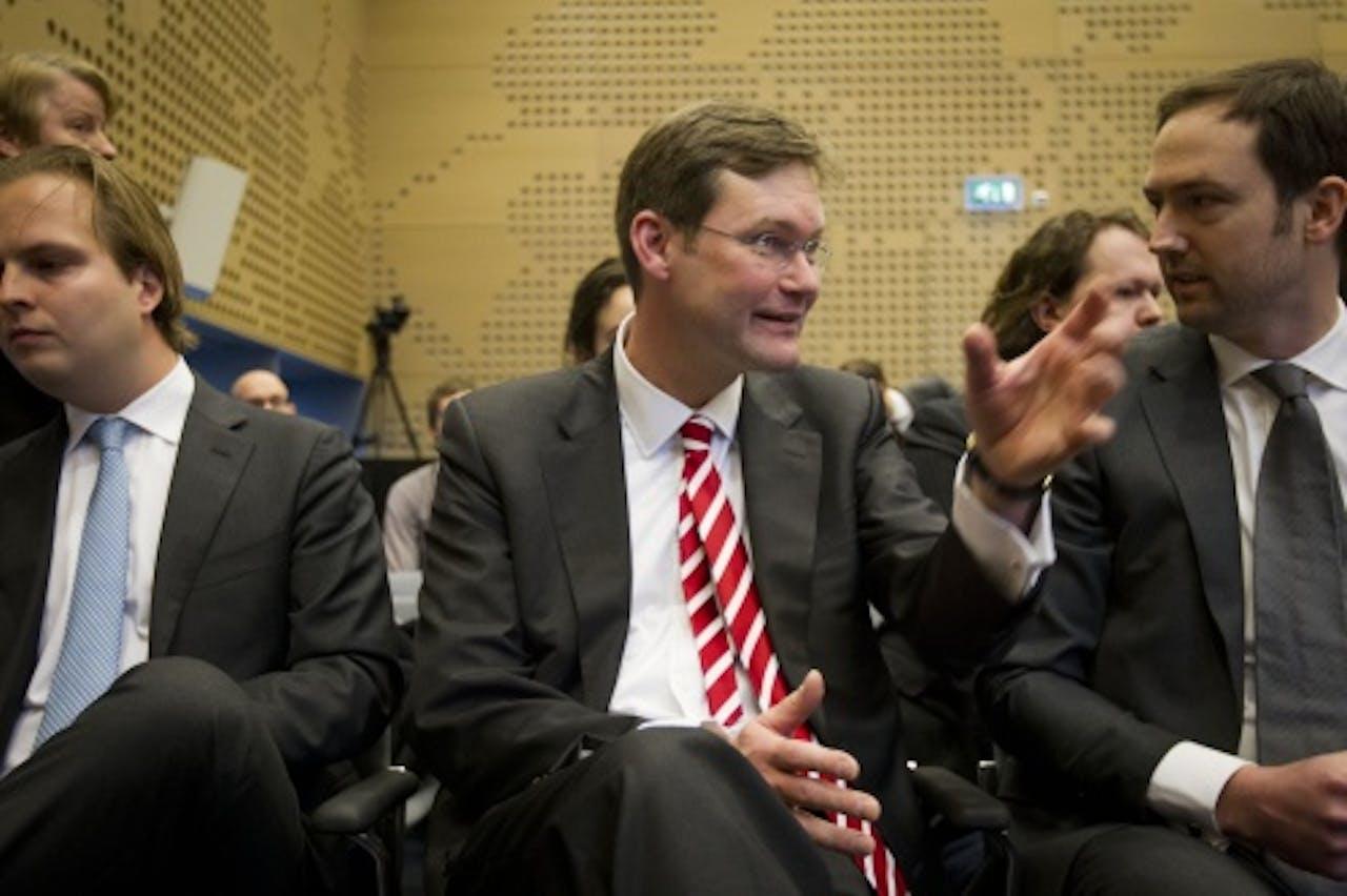 Jan Maarten Slagter (M). ANP