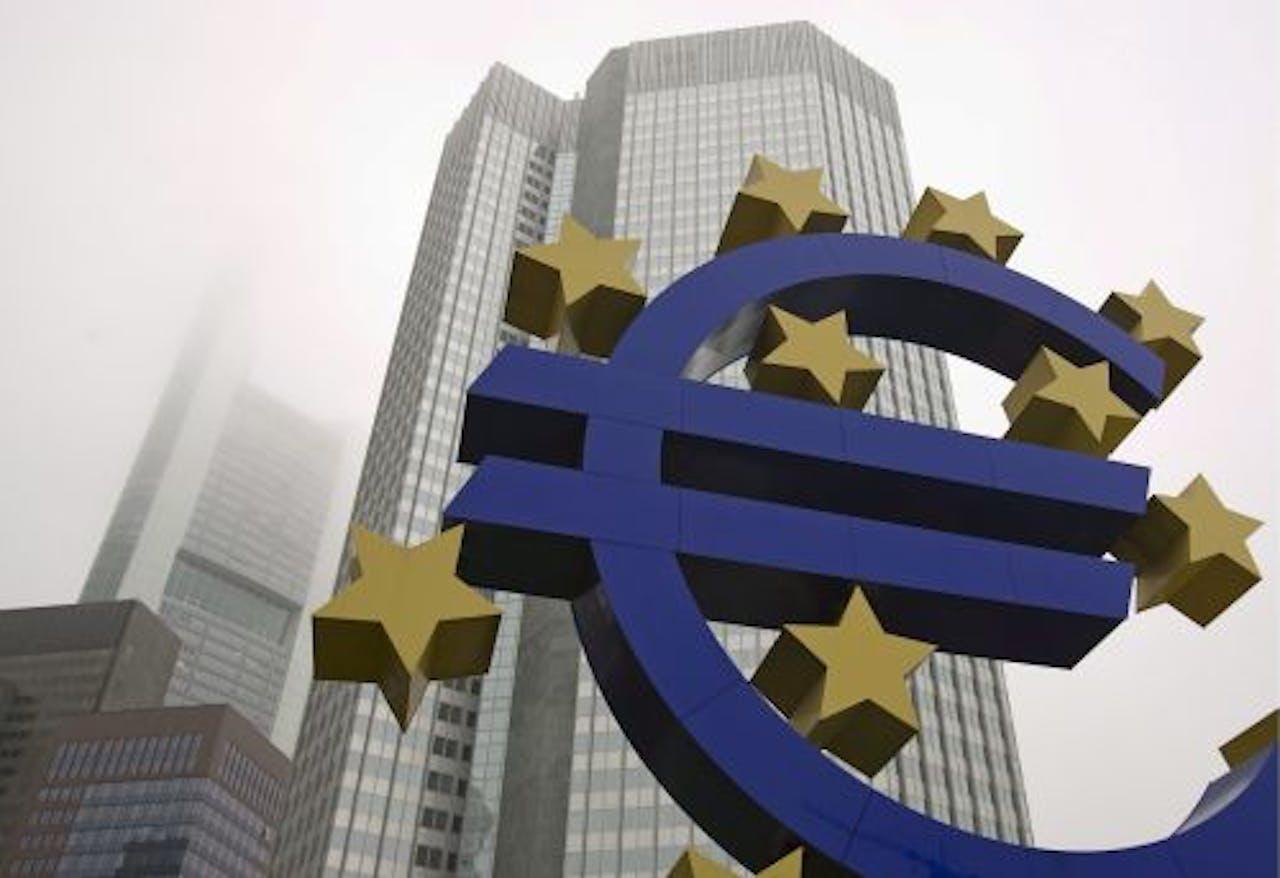 Europese Centrale Bank in Frankfurt, Duitsland. EPA