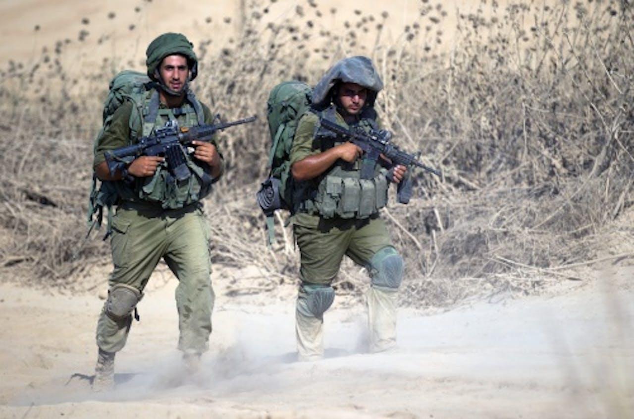 Israëlische soldaten. ANP