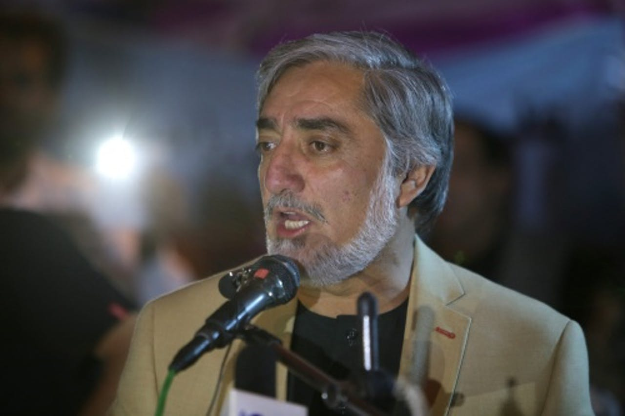 Abdullah Abdullah. EPA