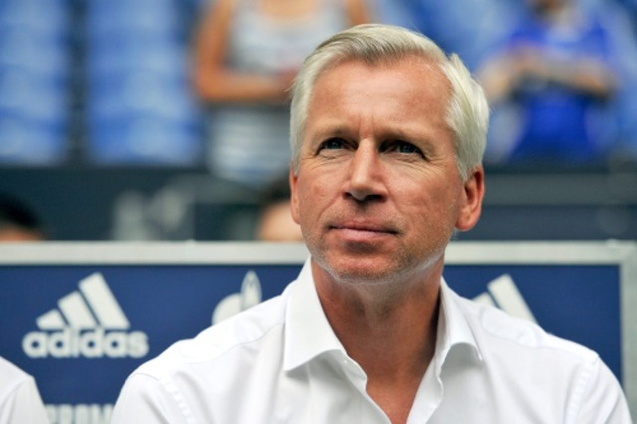 Newcastle United-trainer Alan Pardew. EPA
