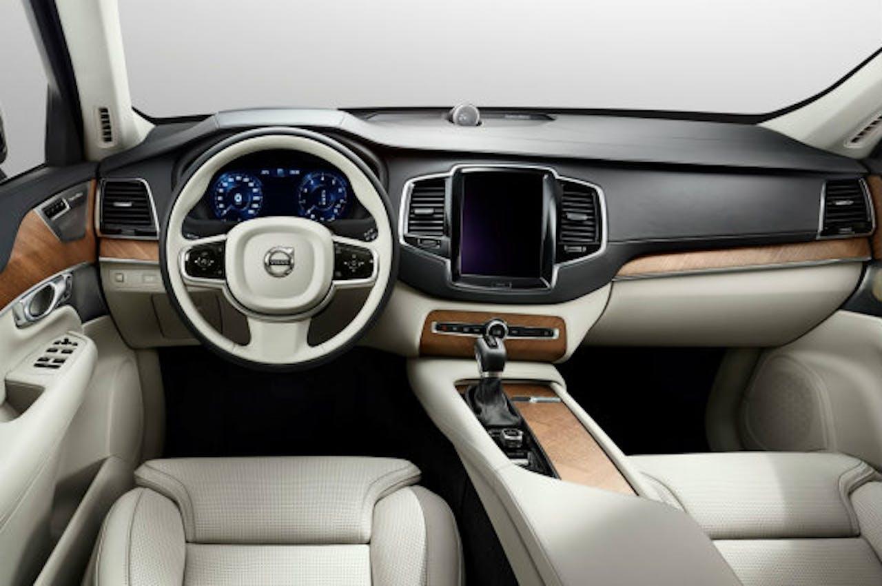 Het nieuwe interieur van de Volvo XC90