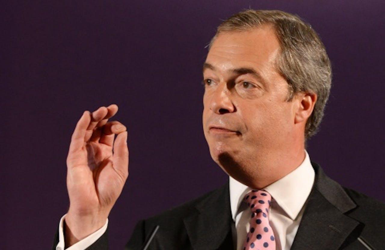 Nigel Farage. EPA