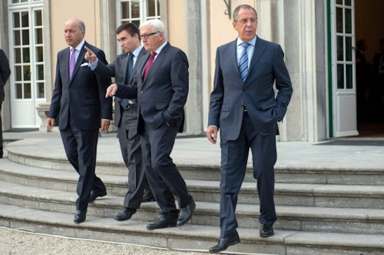 De ministers van Buitenlandse Zaken. EPA