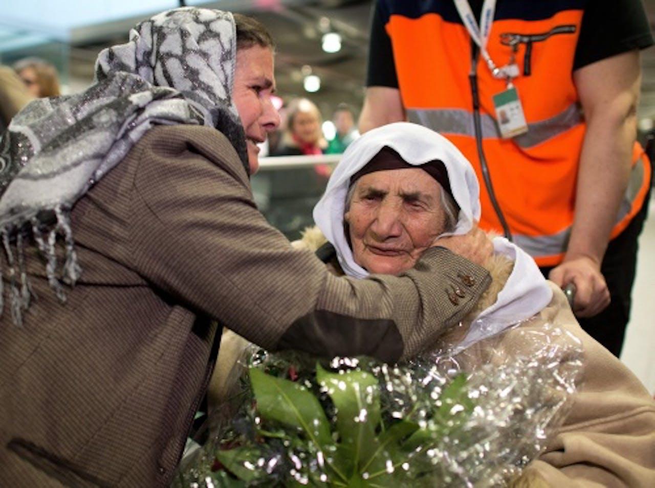 yezidi-vluchtelingen. ANP