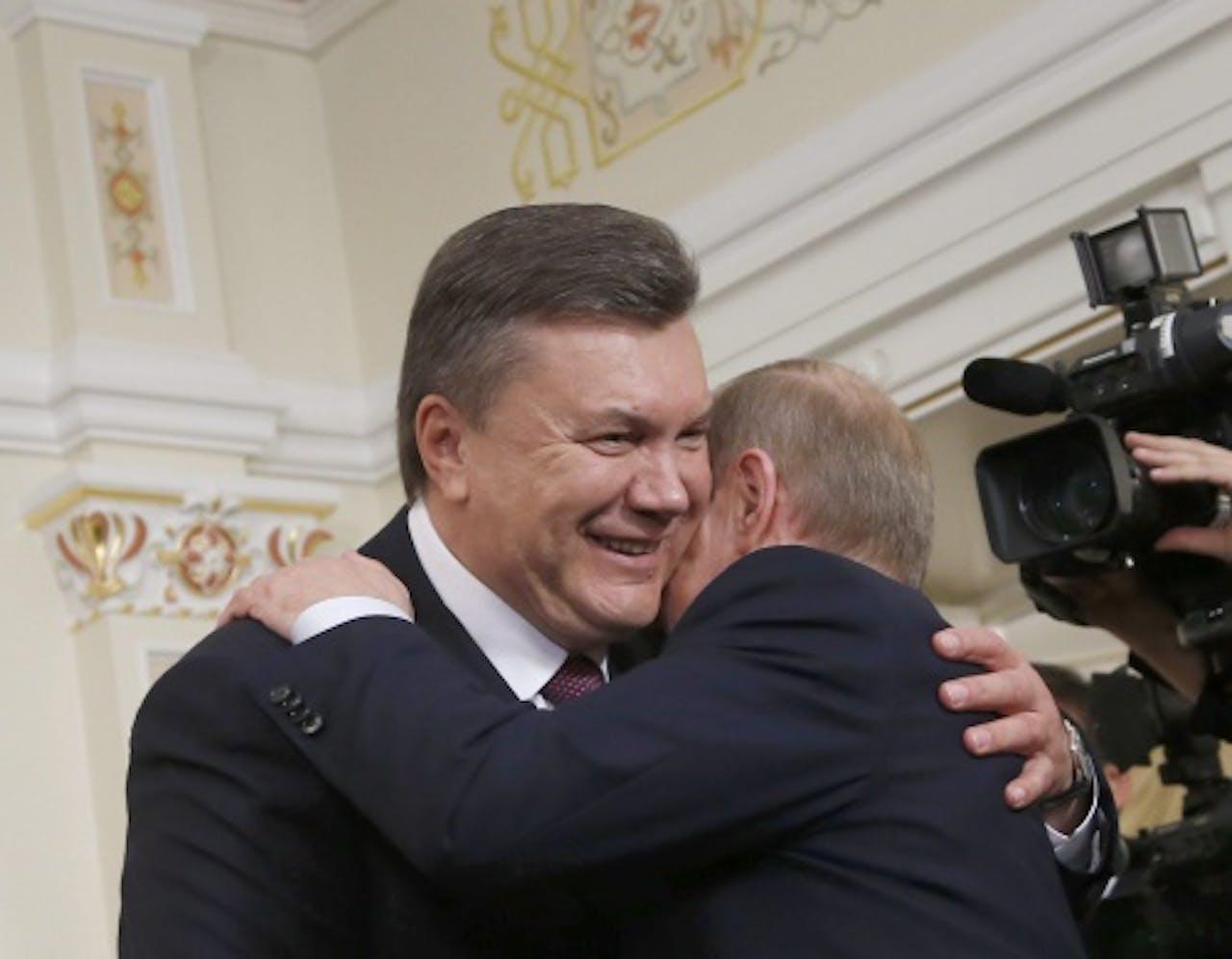 Viktor Janoekovitsj. EPA