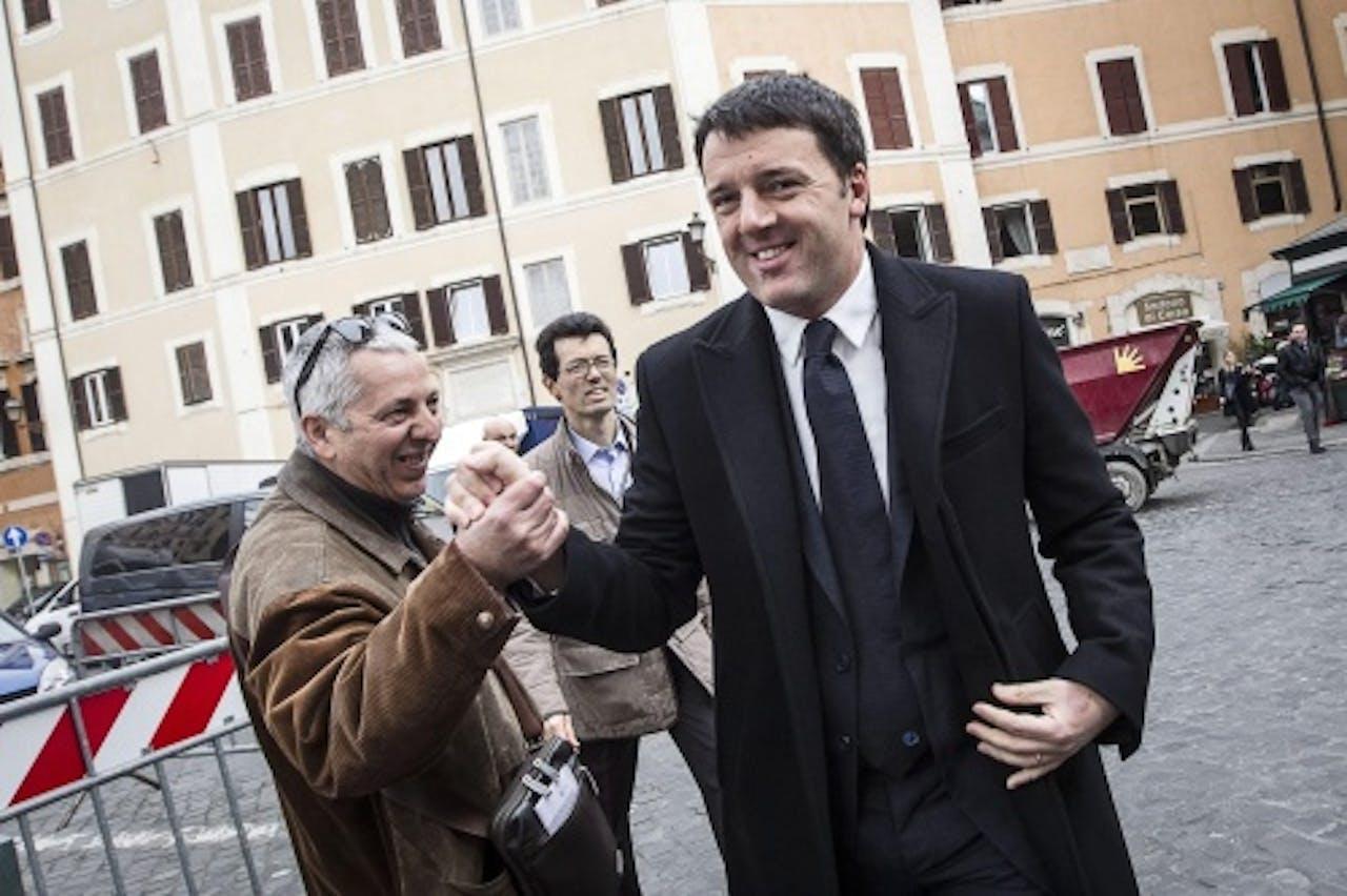 Matteo Renzi. EPA