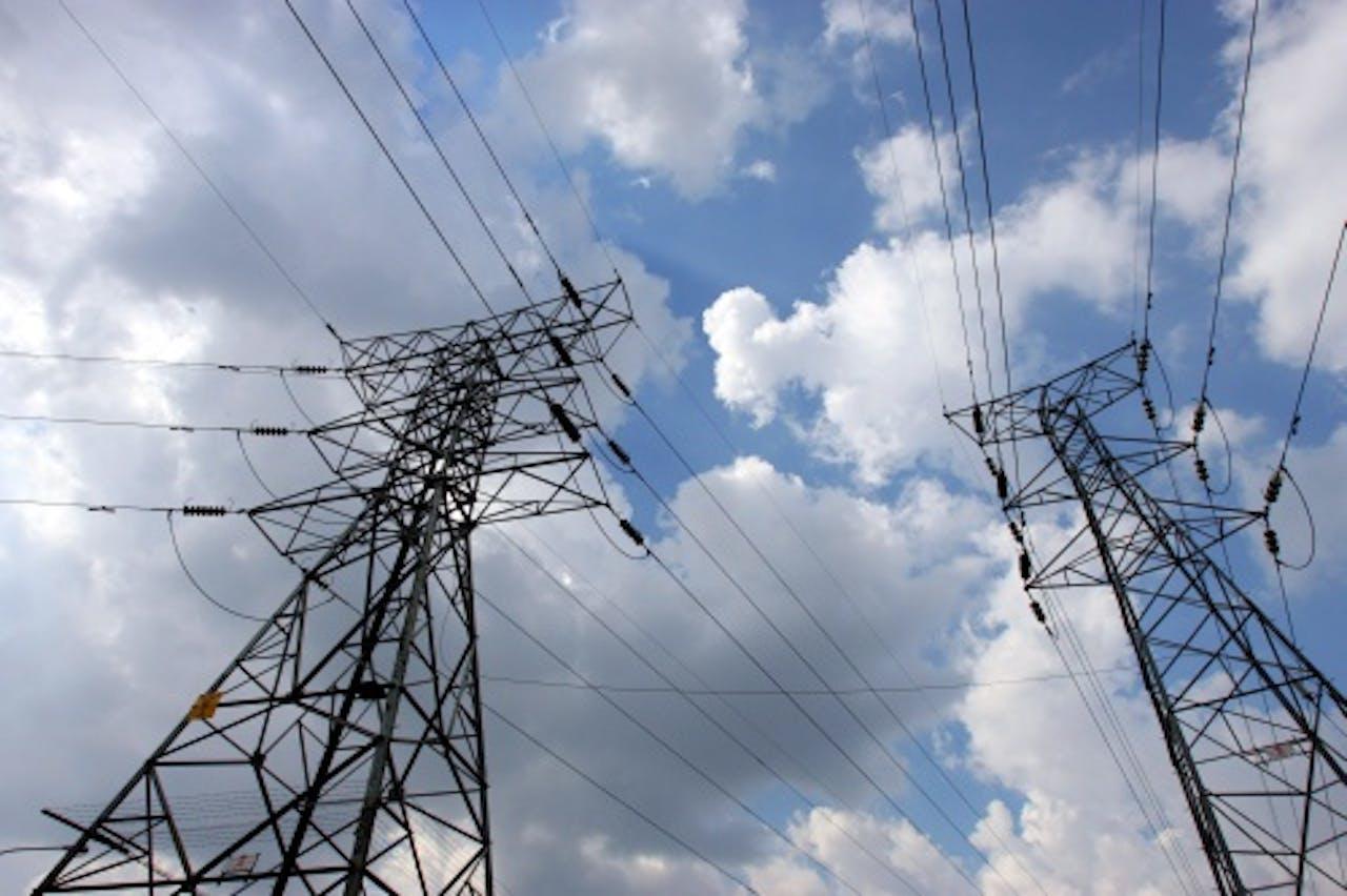 Elektriciteitsmasten van Eskom. EPA