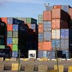 containers staking haven antwerpen