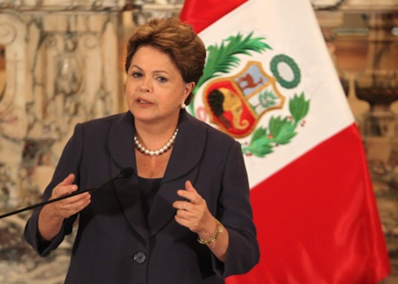 Dilma Roussef. EPA
