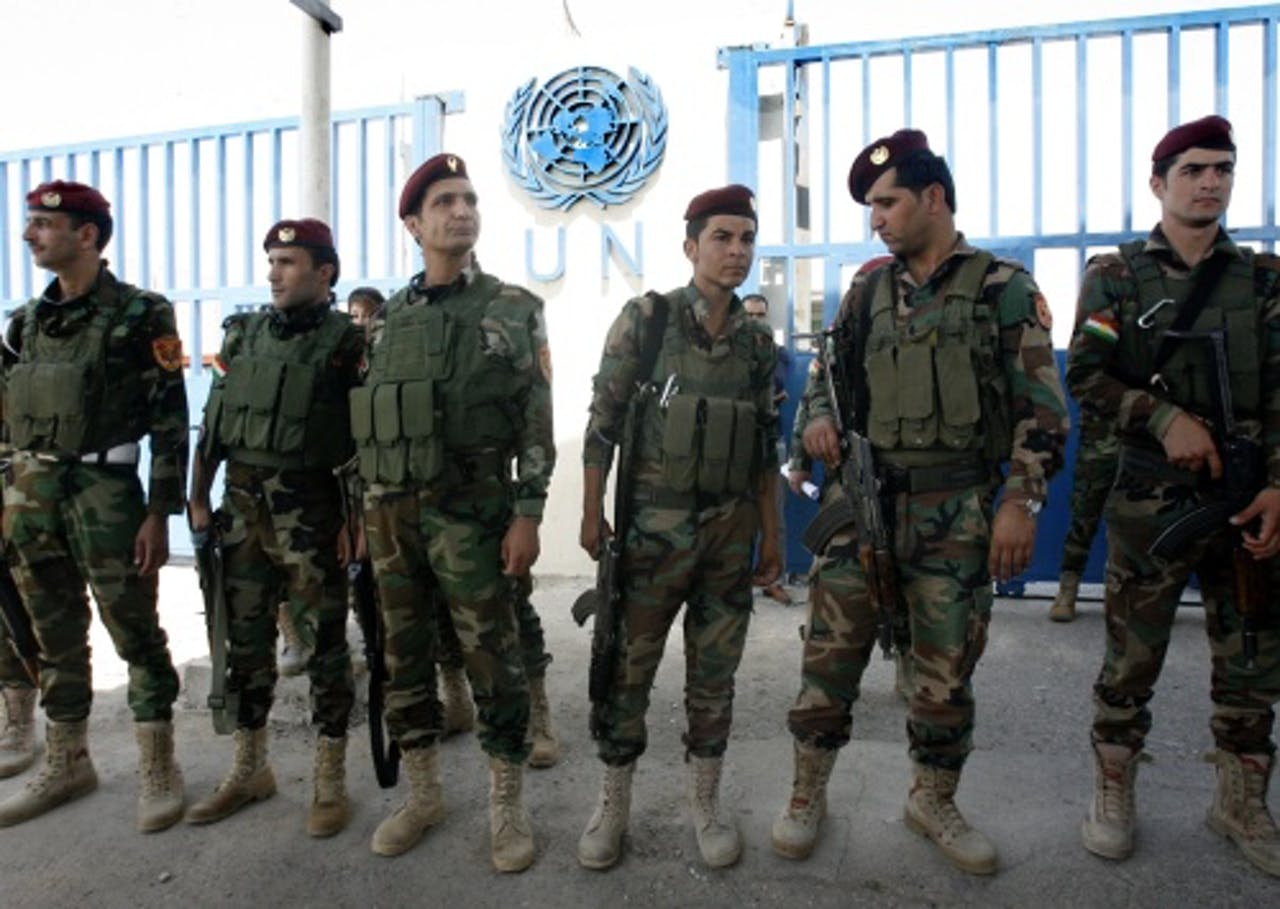 Koerdische militanten. EPA
