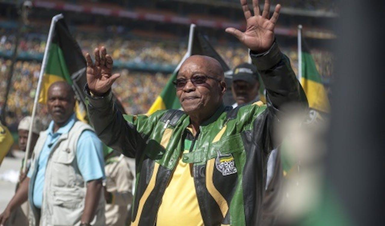 Jacob Zuma - EPA
