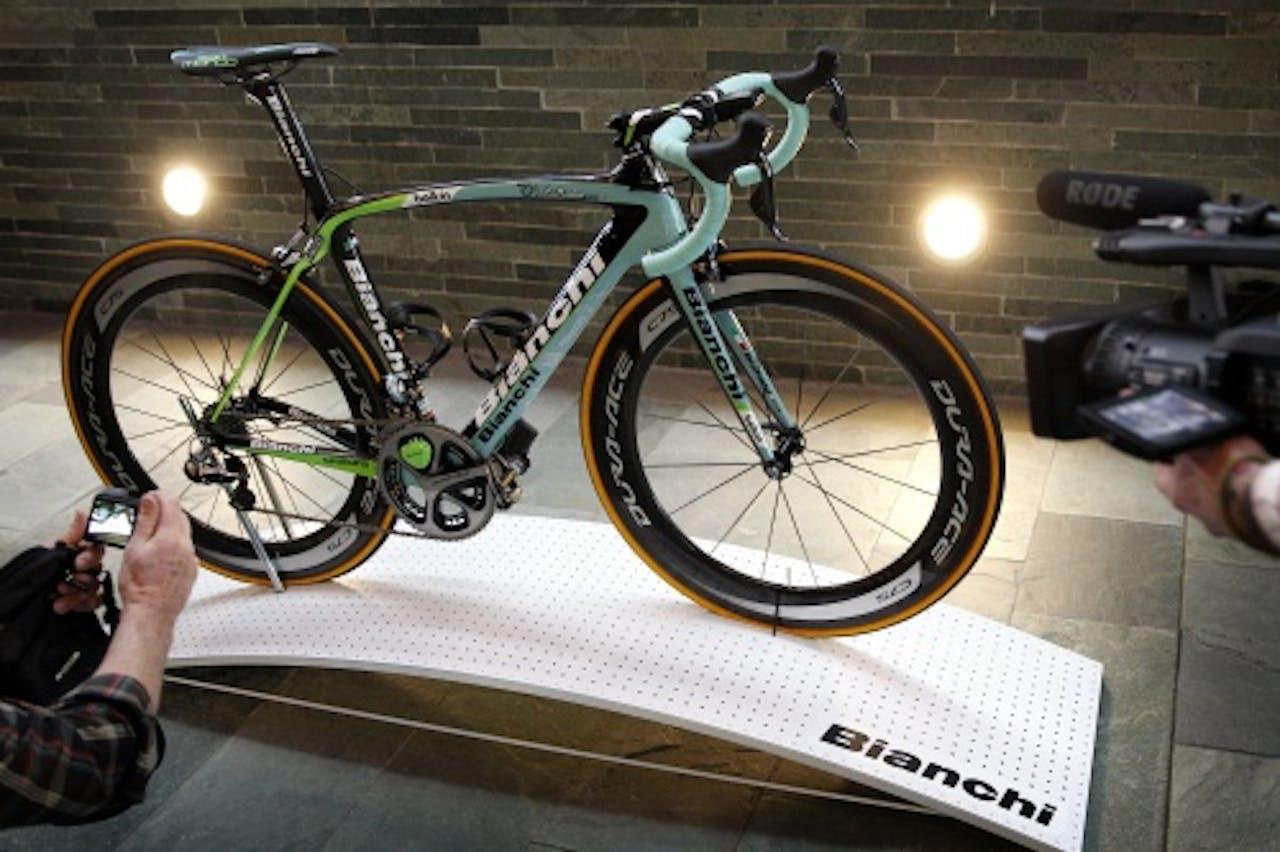 De Bianchi-fietsen van Belkin. ANP
