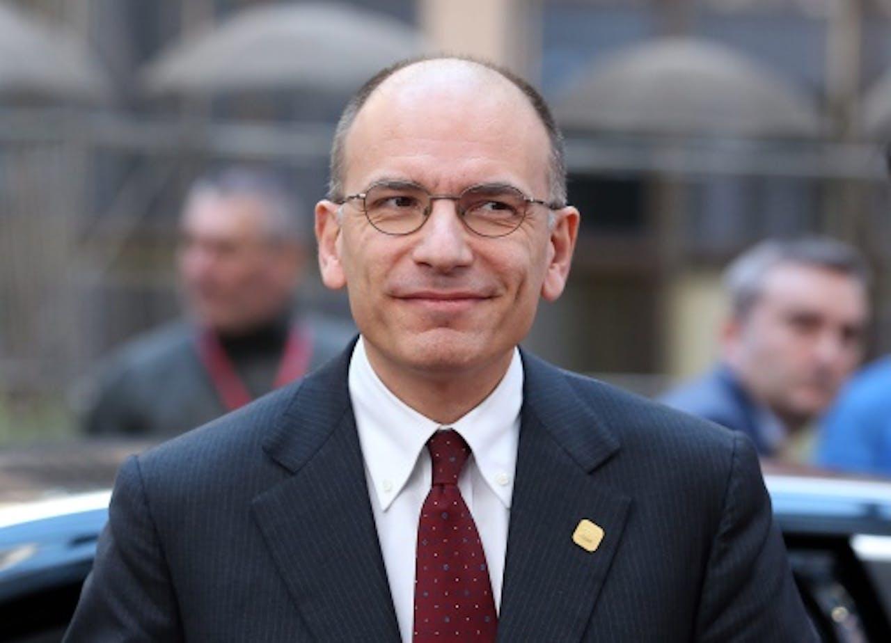 Enrico Letta. EPA