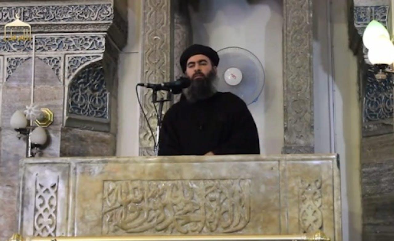 Kalief Abu Bakr al-Baghdadi. EPA