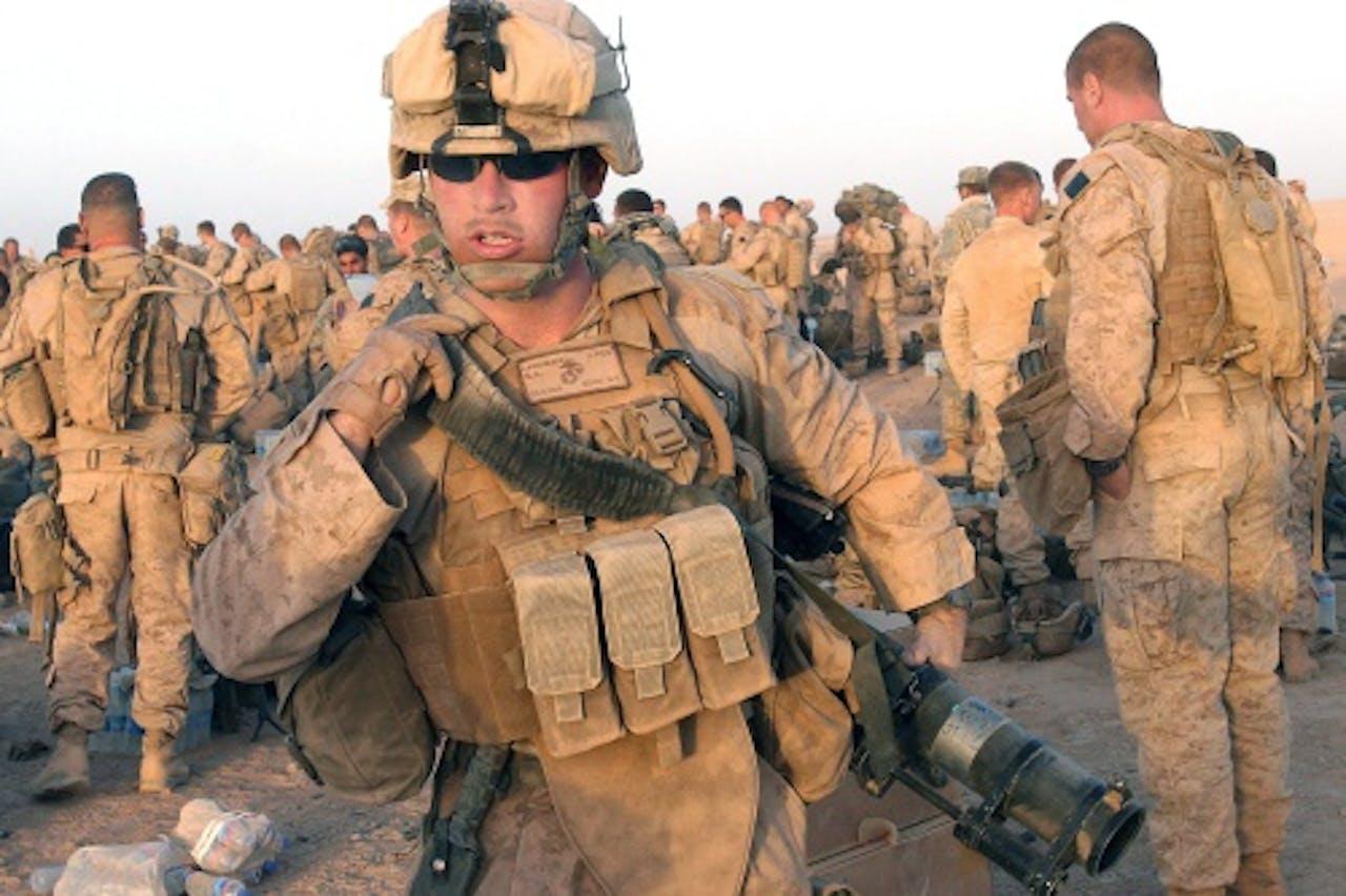 Archiefbeeld van Amerikaanse mariniers. EPA