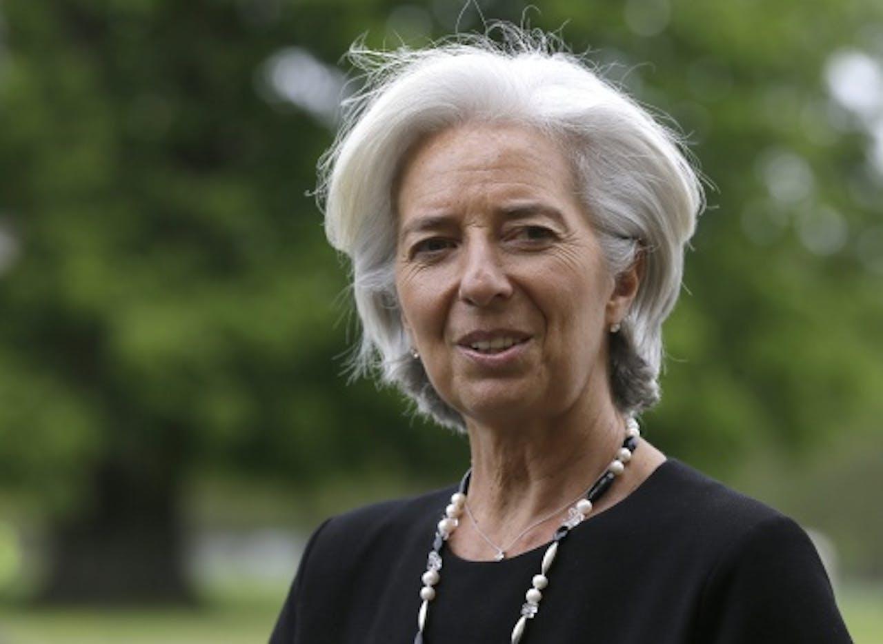 IMF managing director christine lagarde. EPA