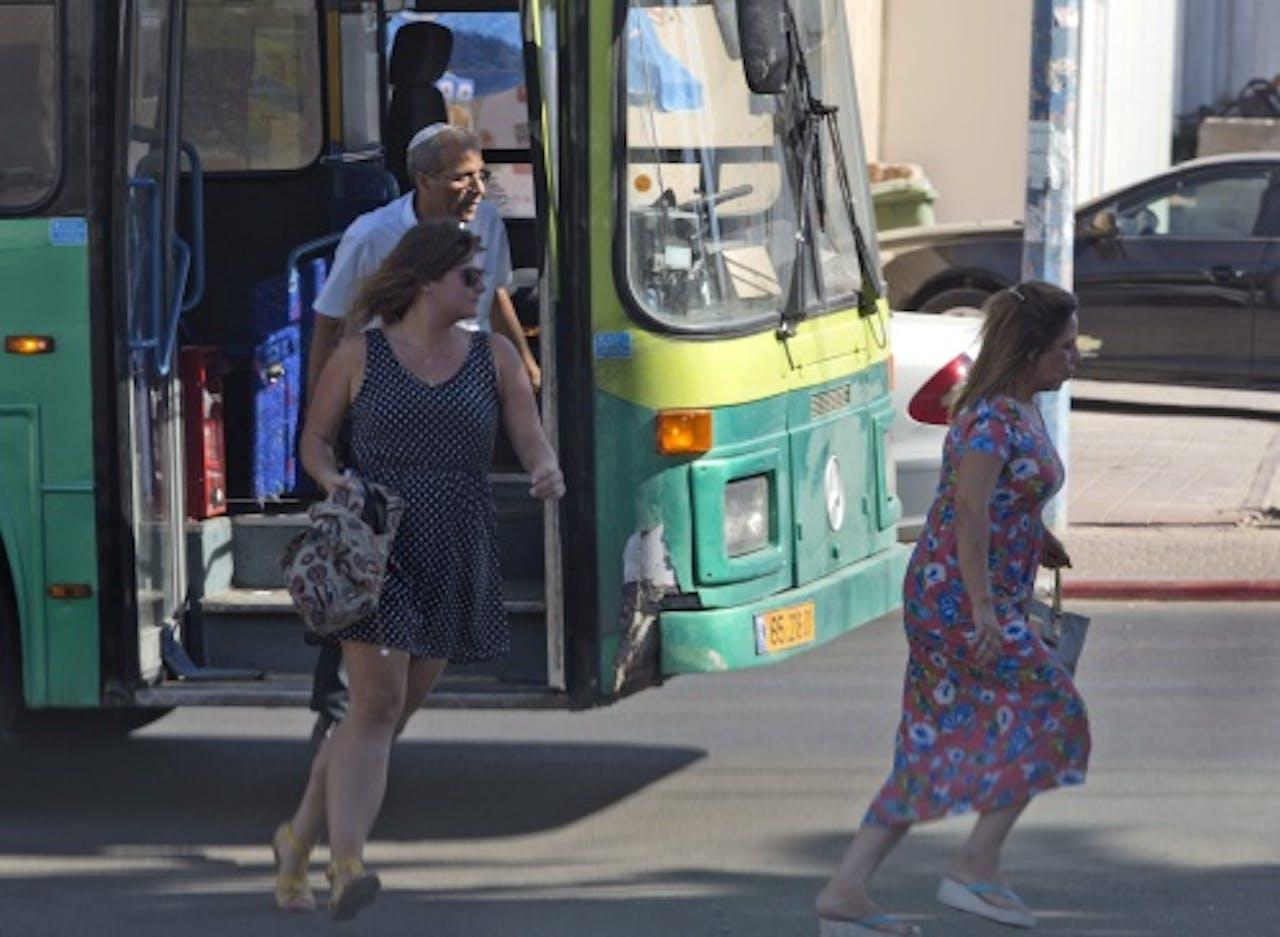 Israëlische bus, archieffoto. EPA
