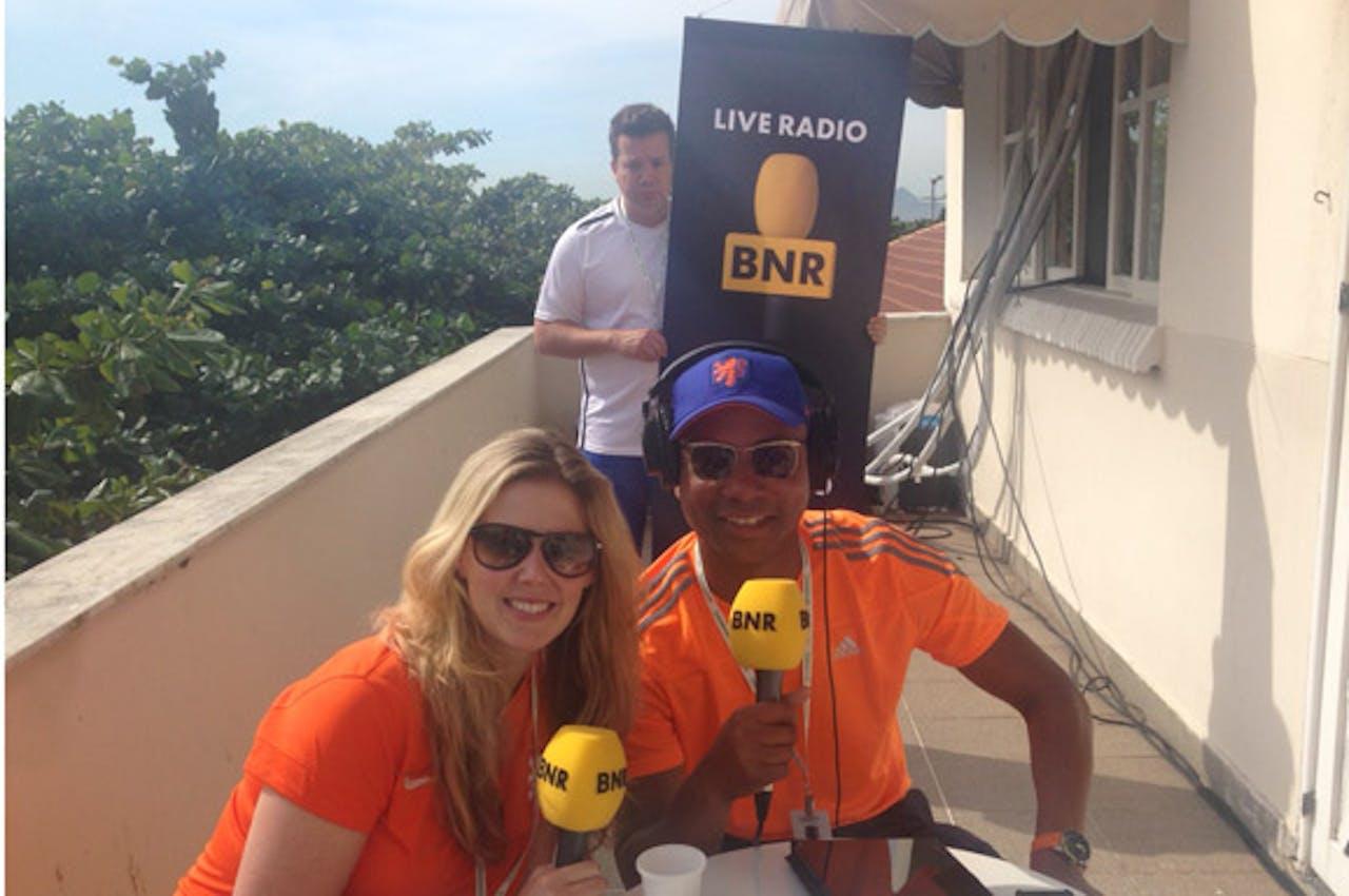 Anne-Greet & Humberto, met op de achtergrond onze eigen Bobinho van Oosterhout