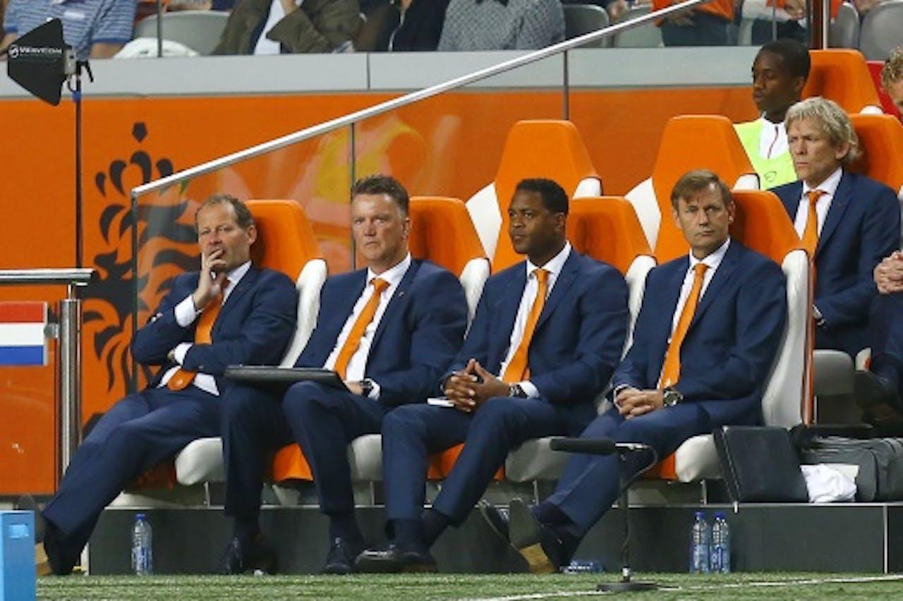 De technische staf van Oranje