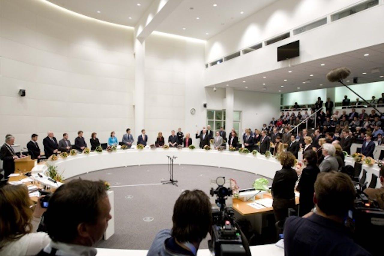 De Haagse gemeenteraad. ANP