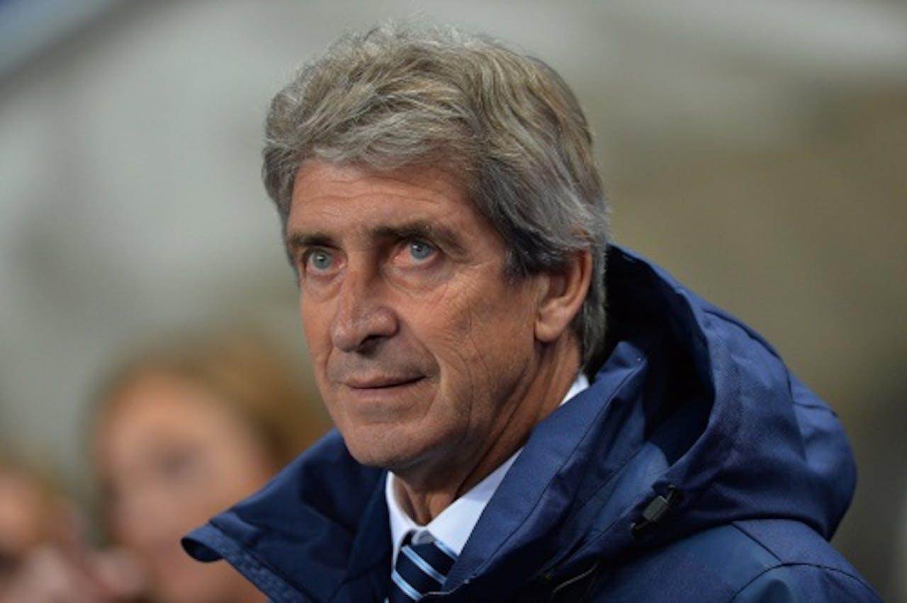 City-trainer Manuel Pellegrini. EPA