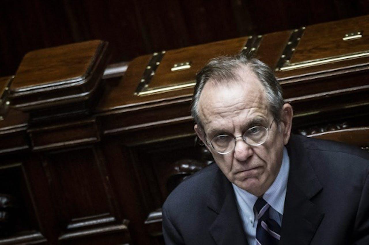 Pier Carlo Padoan. EPA
