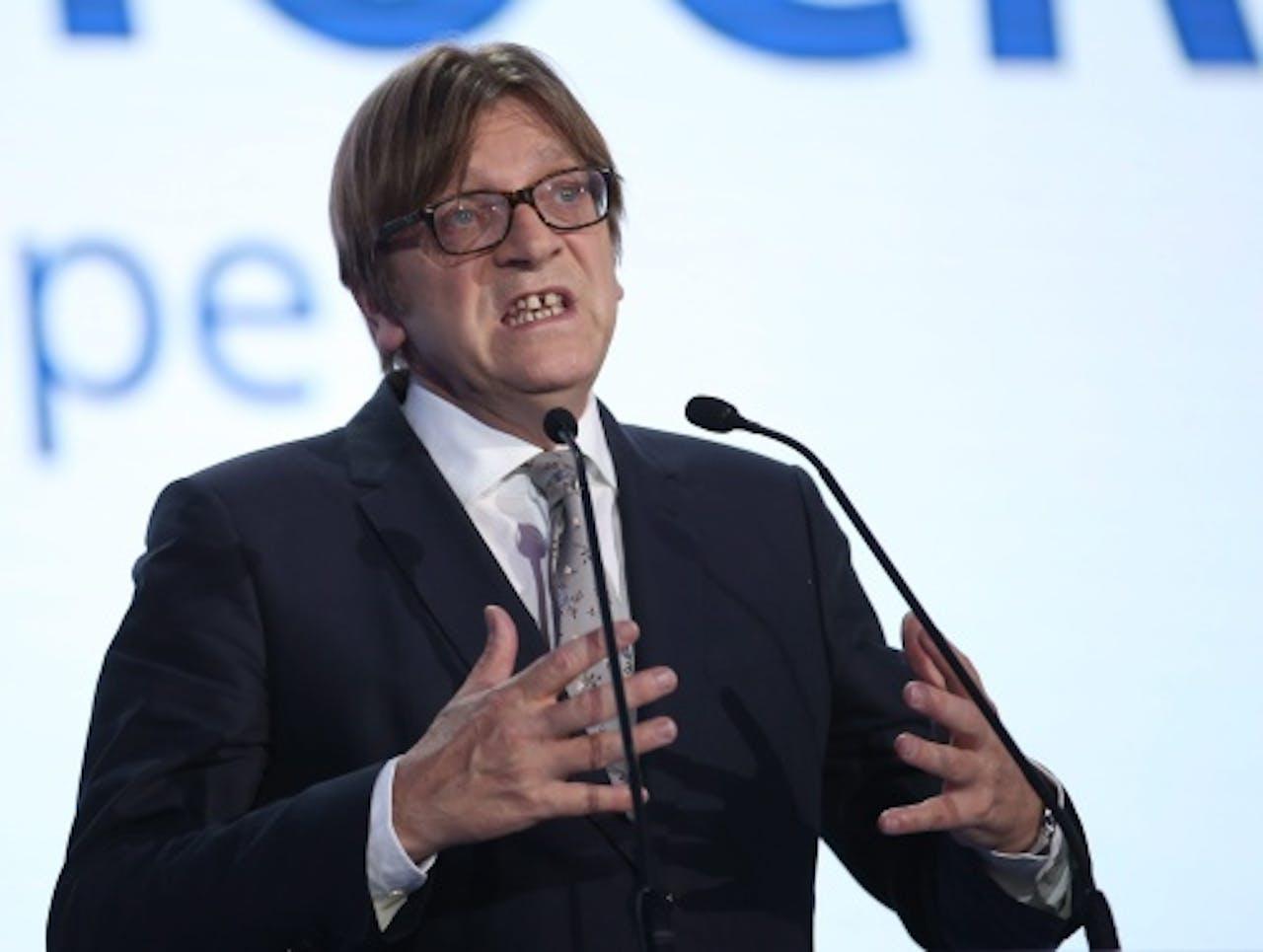 Guy Verhofstadt. EPA