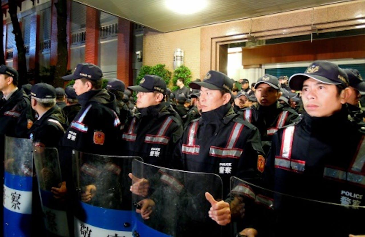 Chinese politie. EPA