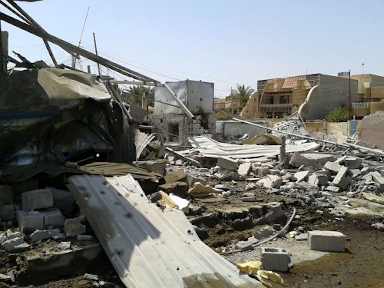Archiefbeeld van Mosul. EPA